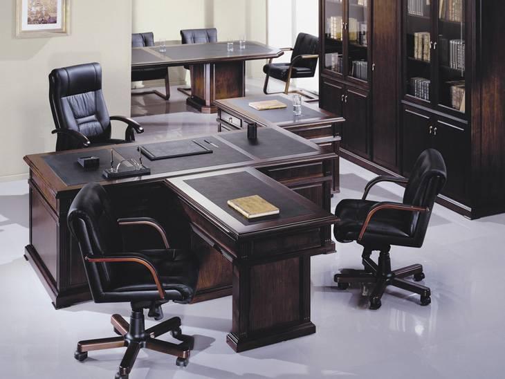 Мебель в кабинет руководителя фото